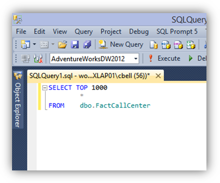 Build your Query